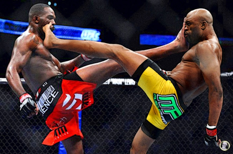 Jon Bones Jones Vs Anderson The Spider Silva
