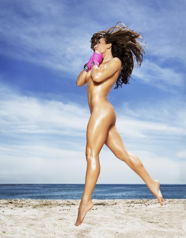 Miesha Tate Poses Nude for Magazine | View Featured Pic ...