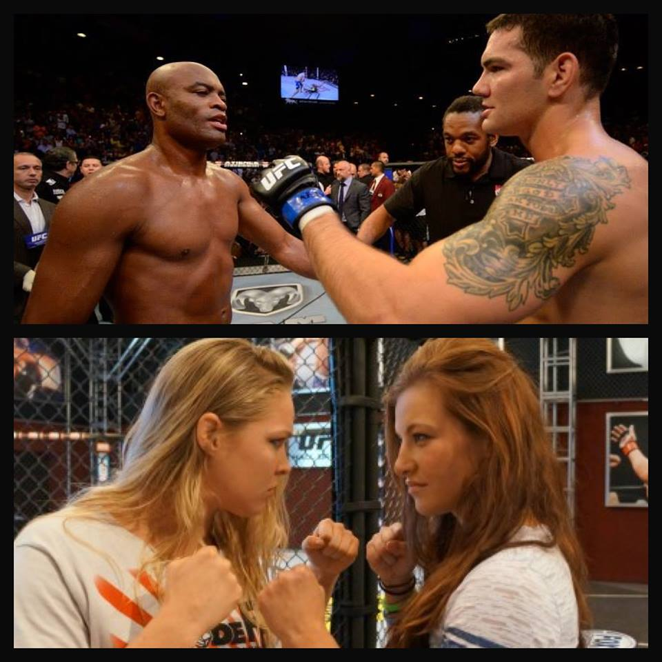 weidman women Weidman, fresh off two finishes of future hall of famer anderson silva in 2013,  will  plus, ufc women's bantamweight champion ronda rousey will attempt to .