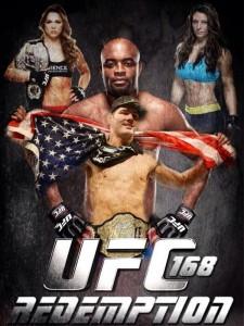 UFC 168 ronda rousey vs miesha tate anderson silva vs chris weidman