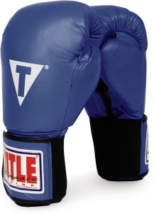 Title Classic Leather Boxing Gloves