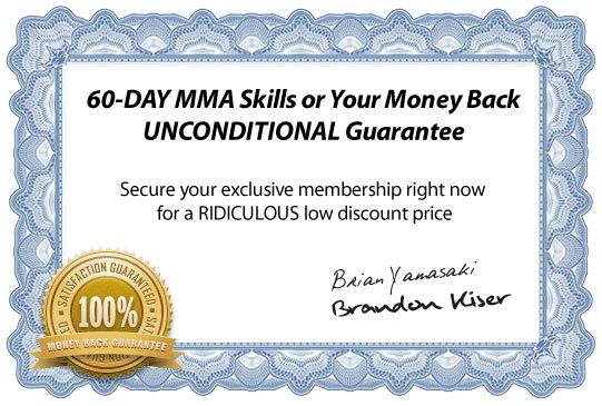 online mma training guarantee