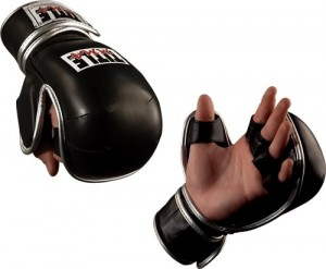 Title MMA sparring gloves